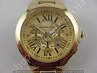 Часы Michael Kors P166G (013493) мужские золотистые с календарем