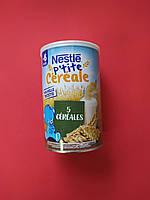 Детская мультизлаковая каша Nestle 5 злаков с 6 месяцев 400 грамм