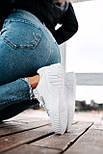 Женские кроссовки Puma Cali Leather Trainers Ladi White белые осень-весна. Живое фото. Реплика, фото 6