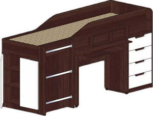 Кровать-чердак Легенда Сучасні Меблі