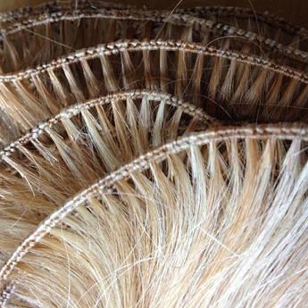 Изготовление ручных трессов из натуральных волос