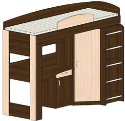 Кровать-чердак Сучасні Меблі