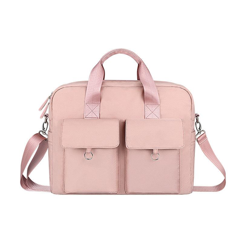 Вместительная сумка для Macbook Air/Pro 13,3''  - Розовый (DJ09)