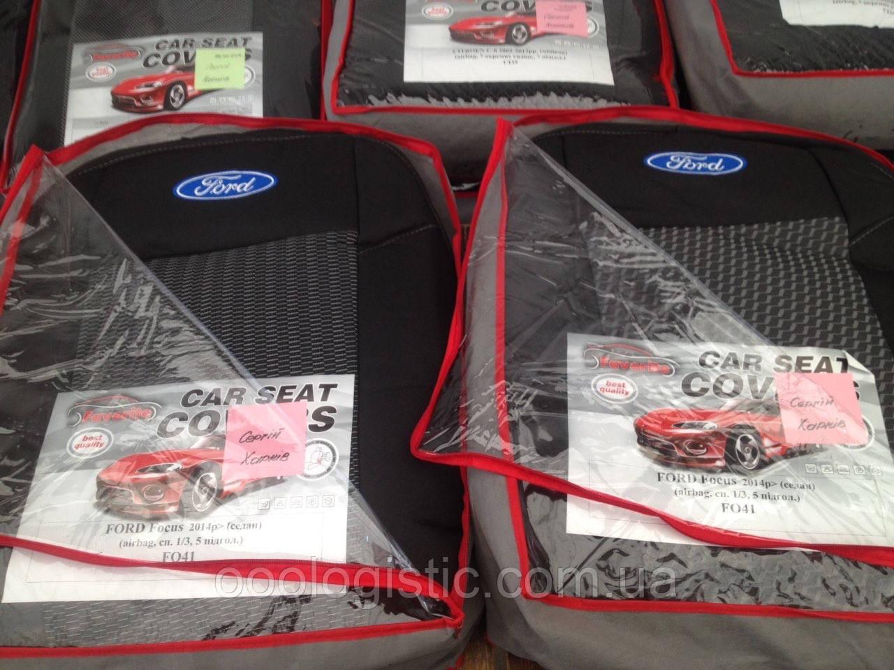 Авточохли на Ford Focus 2014> седан, Форд Фокус