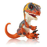 WowWee Fingerlings Интерактивный ручной динозавр Blaze Baby Dinosaur Untamed Raptor Interactive, фото 4