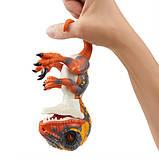WowWee Fingerlings Интерактивный ручной динозавр Blaze Baby Dinosaur Untamed Raptor Interactive, фото 6