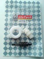 """Ремкомплект привода спидометра Suzuki LETS 2,3 (барабан) """"MotoTech"""""""