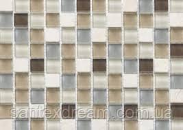 Мозаика Kale-Bareks DAF 11 мрамор стекло (2х2) 30x30