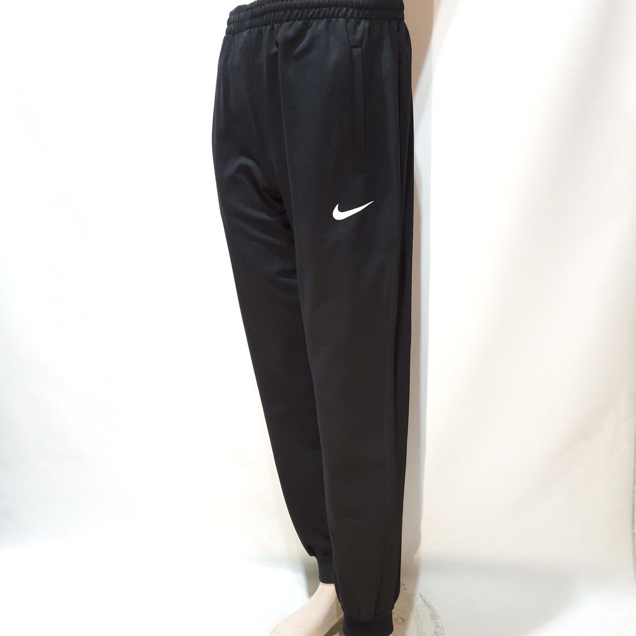 58,62 р. Мужские спортивные штаны (Большие размеры) в стиле Nike Черный