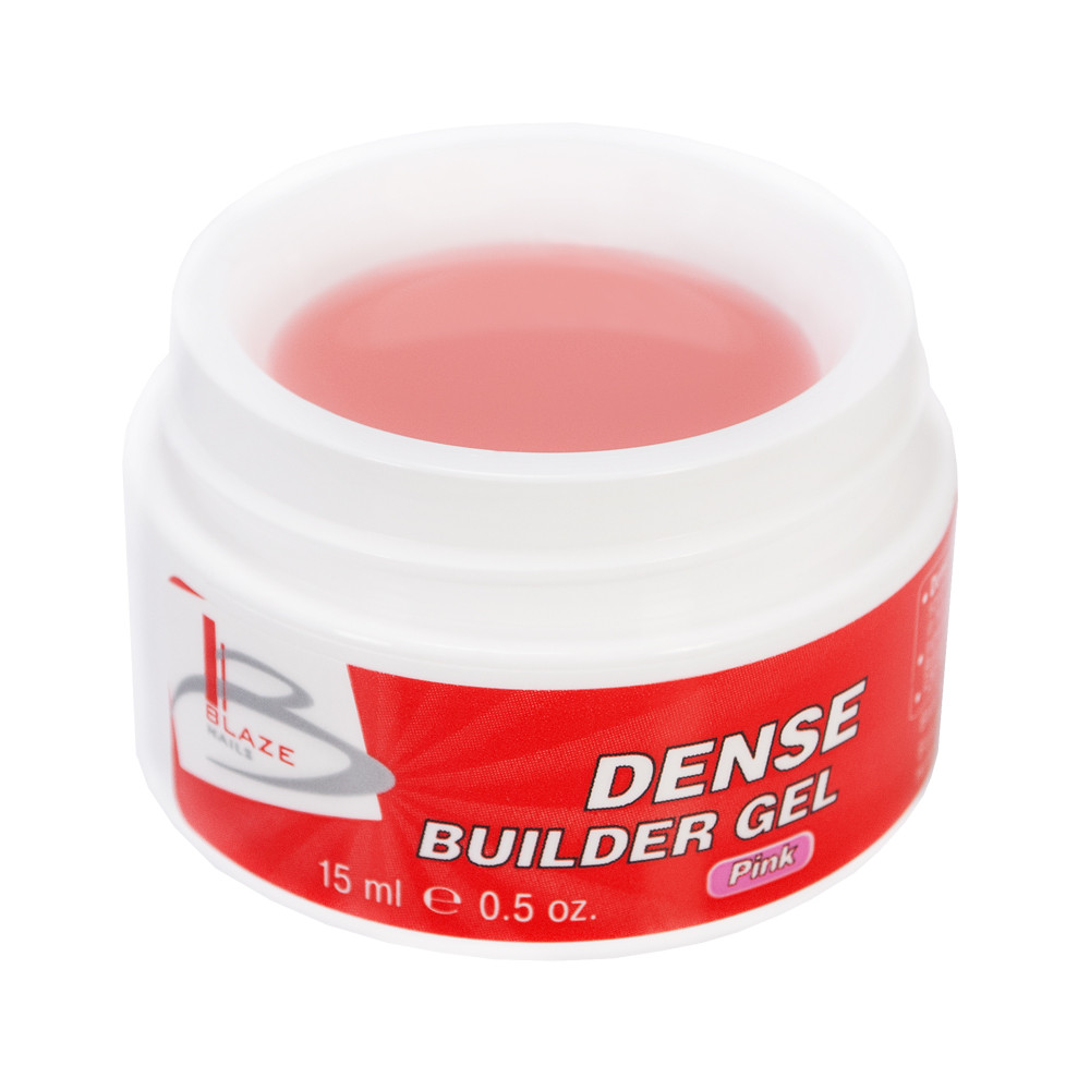 BLAZE Dense Builder Gel Pink уф гель конструирующий густой 15 мл