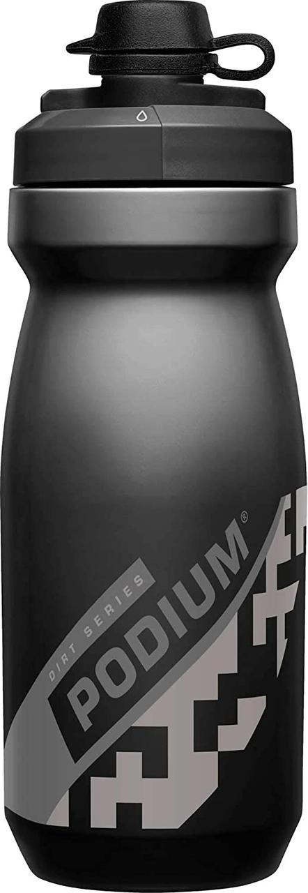 Велосипедная фляга CamelBak Podium Dirt Series 620 ml (21 oz) (2019) Black