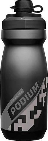 Велосипедная фляга CamelBak Podium Dirt Series 620 ml (21 oz) (2019) Black, фото 2