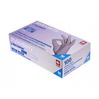 Рукавички нітрилові щільність 4 гр (колір Бузок) Розмір: L+ в Подарунок гель антисептик 200мл
