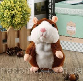 Мягкая интерактивная игрушка Говорящий хомяк, фото 2