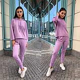 Женский спортивный-прогулочный костюм (3расцв) 42-46р, фото 2