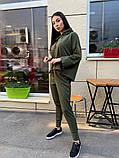 Женский спортивный-прогулочный костюм (3расцв) 42-46р, фото 6
