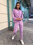 Женский спортивный-прогулочный костюм (3расцв) 42-46р, фото 9