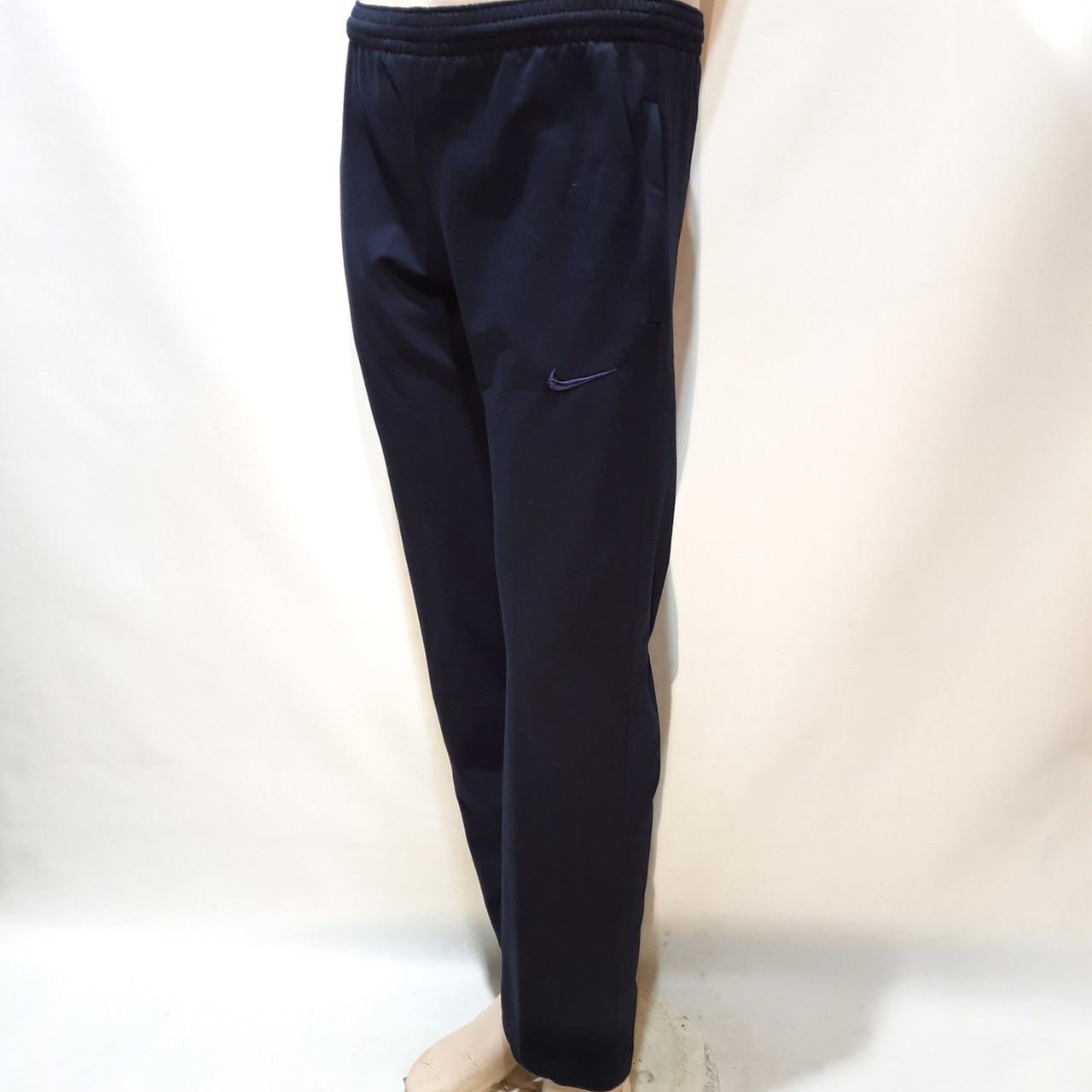 Чоловічі спортивні штани Nike бавовна 46 48 50 52 Чорний