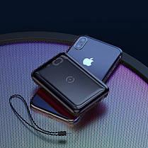 Повербанк BASEUS Mini S Bracket with wireless charger 10000mAh |1USB/1Type-c, QC/PD, 10W/18W|. Black, фото 3