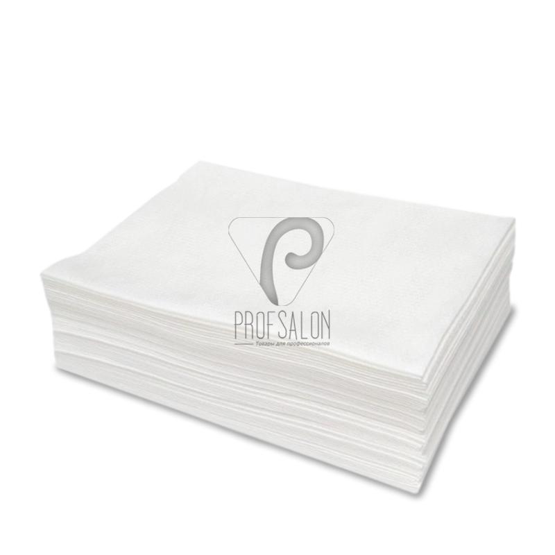 Одноразовые бумажные полотенца в пачке AQUA Absorb Doily 40х70см 50г/м2, из целлюлозы, 20 шт/уп