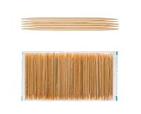 Зубочистка бамбуковая двухсторонняя L 65 мм (уп 1000 шт)