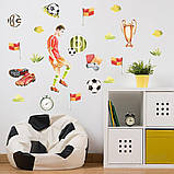 Наклейки на стену футбол, фото 2