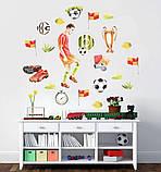 Наклейки на стену футбол, фото 3