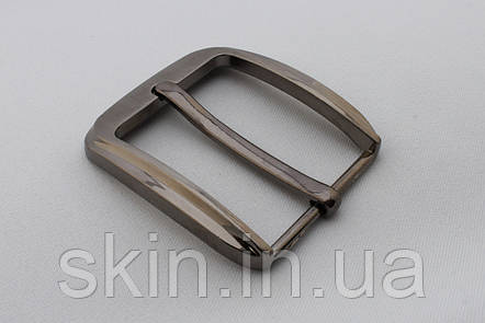 Пряжка ремінна, ширина - 40 мм, колір - нікель, артикул СК 5666, фото 2