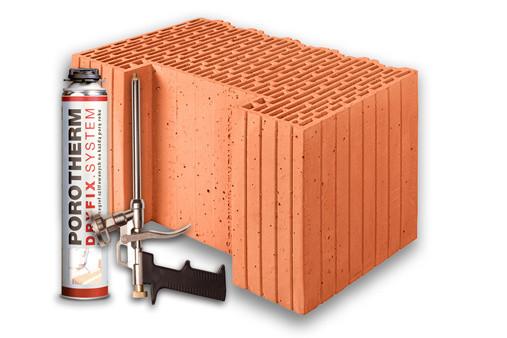 Керамический блок Porotherm 44 K Eko+ Dryfix
