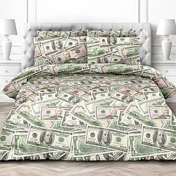 Комплект постельного белья Komfort (Перкаль) ДОЛЛАРЫ семейный