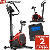 Електромагнітний велотренажер HS-060H Exige black/red до 150 кг. Гарантія 24 міс.