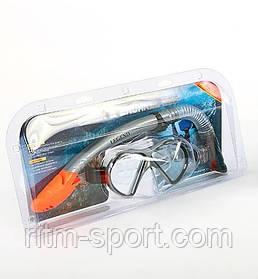 Набір для плавання маска з трубкою