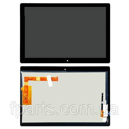 Дисплей Lenovo Tab E10 TB-X104F з тачскріном, Black, фото 2