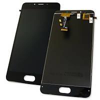 Meizu Дисплей Meizu U10 U680H с сенсором, черный (оригинальные комплектующие), фото 1