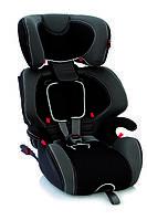 Детское автокресло Bellelli Gio Plus Fix, группа 1/2/3 (09-36кг), цвет черно-серый, фото 1