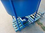 Бункер для подачи бетона БН- 1.0 (куб.м) бункер бетонной массы, фото 4