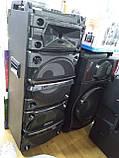 Колонка акумуляторна з Діджей Мікшером DJ-1035 + 2 радіомікрофона (400W/USB/BT/FM), фото 2