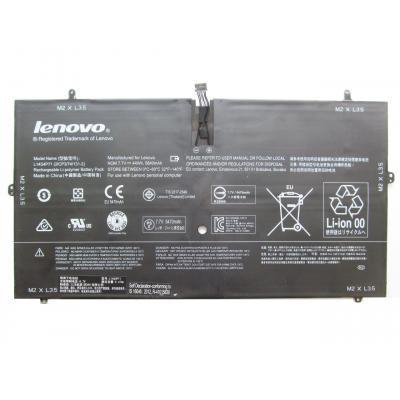 Аккумулятор для ноутбука Lenovo Yoga 3 Pro-1370 L14S4P71, 44Wh (5840mAh), 4cell, 7.7V (A47358)