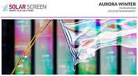 Декоративная дихроическая пленка хамелеон Solar Screen Aurora Winter 1.35 м