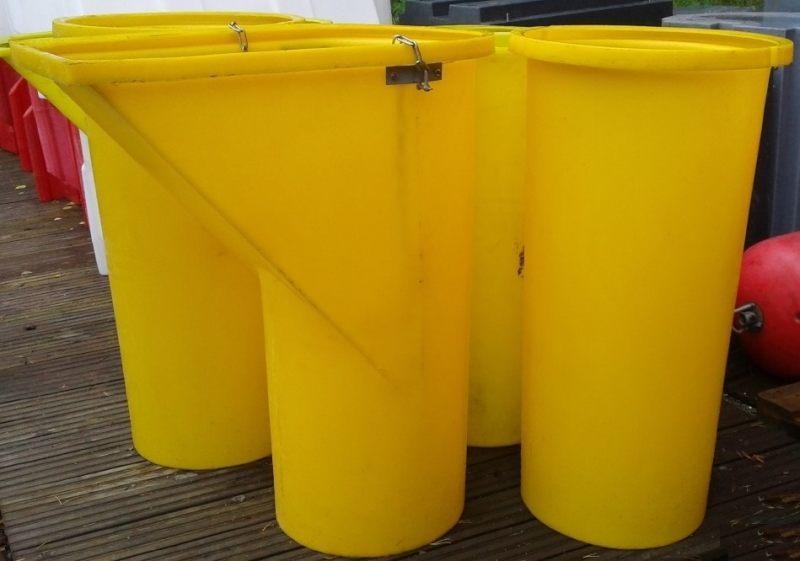 Приймальна горловина для сміттєскидача