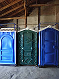 Туалетна кабіна (біотуалет) + раковина і умивальник, фото 7