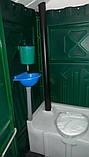 Туалетна кабіна (біотуалет) + раковина і умивальник, фото 8
