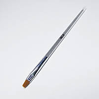 Кисть для геля с прозрачной ручкой №6