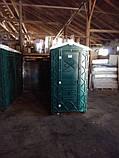 Биотуолет кабіна зелений від чотирьох одиниць, фото 3