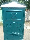 Биотуолет кабіна зелений від чотирьох одиниць, фото 5