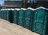 Биотуолет кабіна зелений від чотирьох одиниць, фото 7
