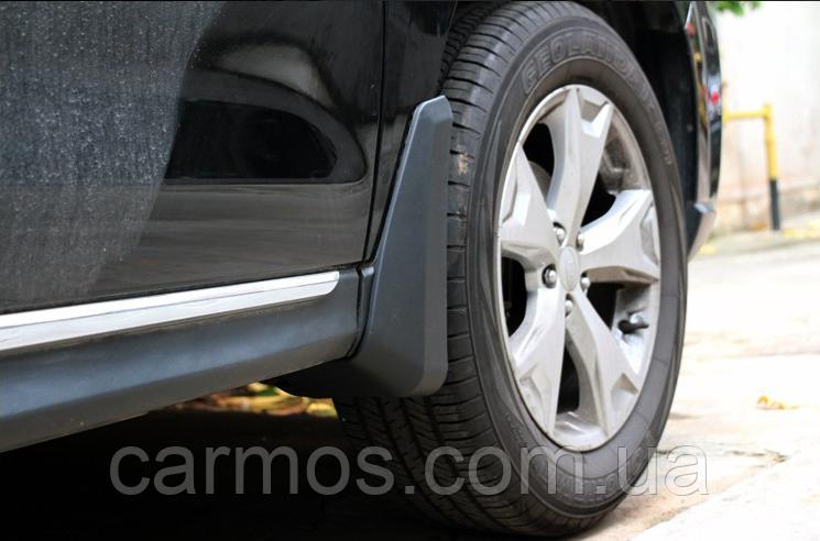 Брызговики  Subaru Forester 2013 -> (полный кт 4-шт), кт.