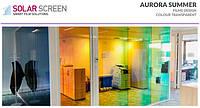 Декоративная дихроическая пленка хамелеон Solar Screen Aurora Summer 1.35 м