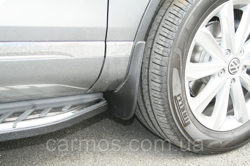 Брызговики  VW Touareg 2010 - (полный кт 4-шт), кт.