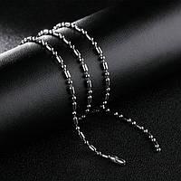 Цепочка из ювелирной стали длина 55 см/2.4 мм, фото 1
